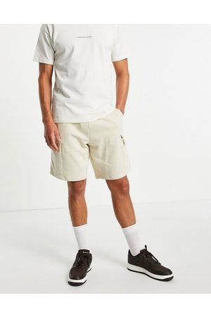 ASOS Oversized jersey shorts with cargo pocket in grey