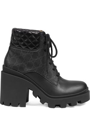 Gucci Women Ankle Boots - GG Supreme ankle boots