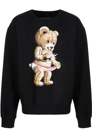 DOMREBEL Snap graphic-print sweatshirt