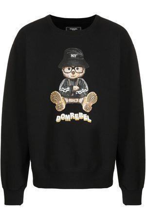 DOMREBEL Teddy bear logo-print sweatshirt