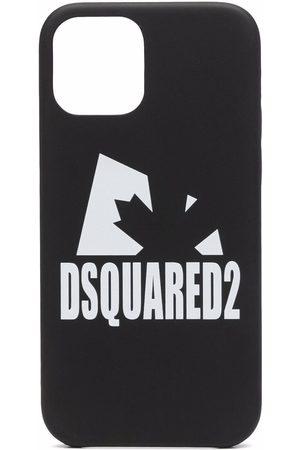 Dsquared2 Men Phone Cases - Logo-print iPhone 12 case