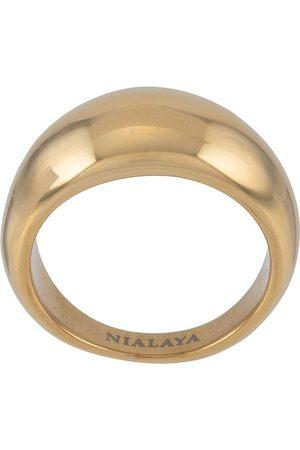 Nialaya Jewelry Women Rings - Dome band ring