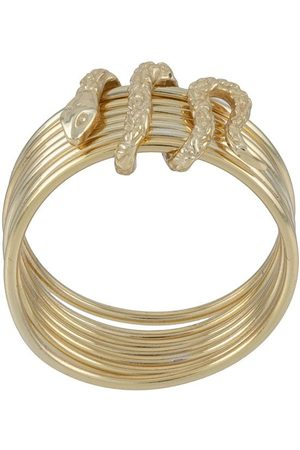 Nialaya Jewelry Women Rings - Stacked snake ring