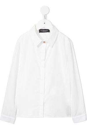 VERSACE Girls Shirts - Longsleeved cotton shirt