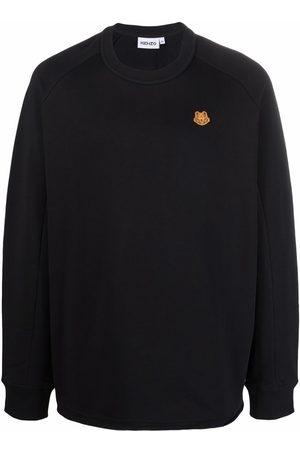 Kenzo Tiger-patch sweatshirt