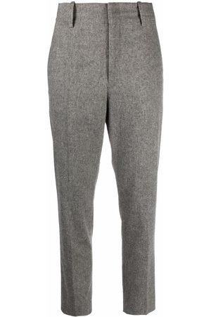 Isabel Marant Women Pants - Niloah cropped straight-leg trousers