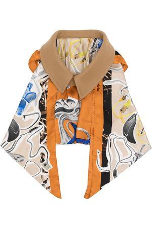 Maison Margiela Women Scarves - Oversize collar draped scarf