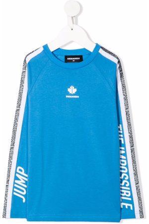 Dsquared2 Logo stripe sweatshirt