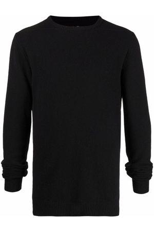 Rick Owens Crew-neck rib-trimmed jumper