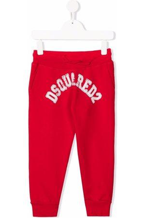 Dsquared2 Kids Boys Joggers - Logo-print track pants