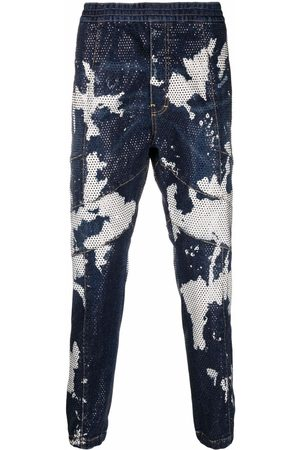 Dsquared2 Men Tapered - Tie-dye tapered jeans