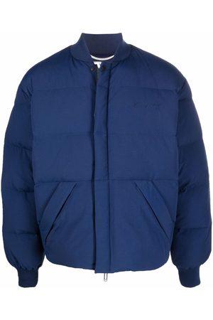 OFF-WHITE Men Winter Jackets - ARROW PUFFER DEEP DEEP
