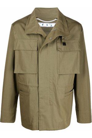 Off-White Men Outdoor Jackets - ARROW FIELD JACKET