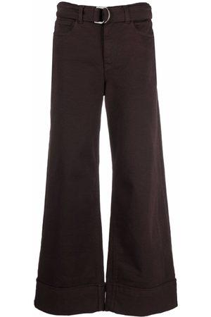 ELEVENTY Women Wide Leg Pants - Wide-leg trousers