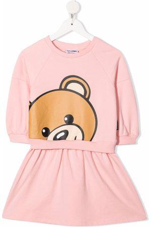 Moschino Bear-print dress