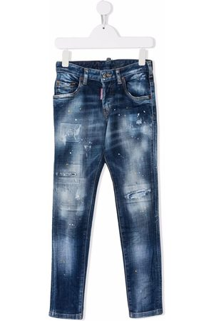 Dsquared2 Girls Jeans - Bleached-effect jeans