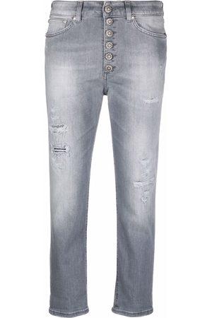 Dondup Women Straight - Cropped straight-leg jeans