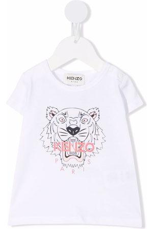 Kenzo Tiger-print organic cotton T-shirt