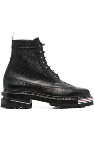Thom Browne Women Lace-up Boots - Lace-up longwing boots