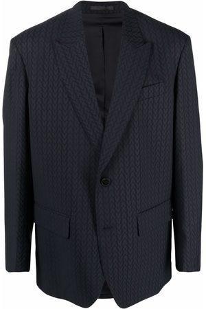 VALENTINO Monogram-jacquard wool jacket