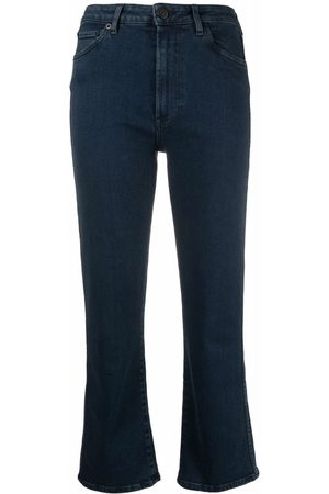 3x1 Women Boyfriend - High-rise kickflare jeans