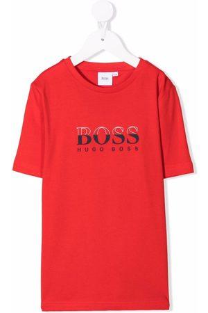 BOSS Kidswear Logo-print T-shirt