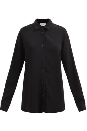 Asceno Milan Crepe Shirt - Womens