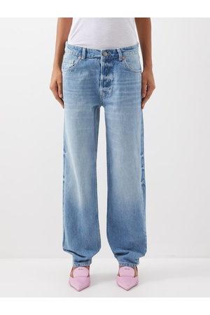 Raey Opa Organic-cotton Baggy Boyfriend Jeans - Womens - Light