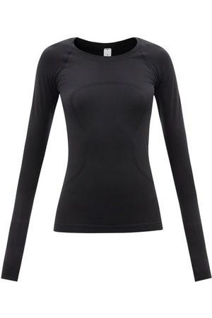 Lululemon Women Long Sleeve - Swiftly 2.0 Technical-mesh Long-sleeved T-shirt - Womens