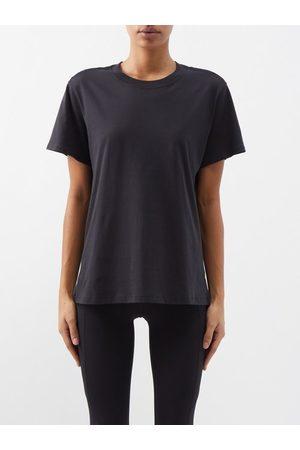 Lululemon All Yours Cotton-blend Jersey T-shirt - Womens