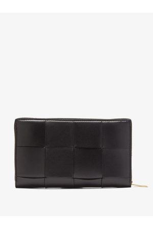 Bottega Veneta Cassette Zip-around Leather Wallet - Womens