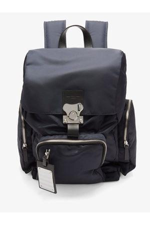 FPM Milano Butterfly Medium Leather-trim Nylon Backpack - Mens