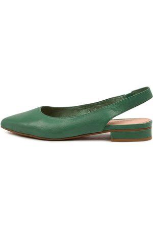 Diana Ferrari Women Flat Shoes - Dyani Df Emerald Shoes Womens Shoes Dress Flat Shoes