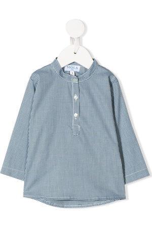 SIOLA Shirts - Buttoned micro-print shirt