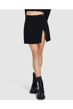 Alice In The Eve High Wrap Mini Skirt