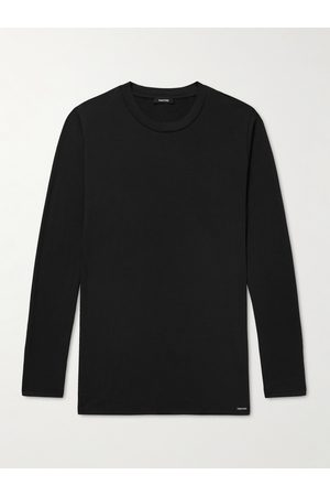 TOM FORD Stretch Cotton and Modal-Blend T-Shirt
