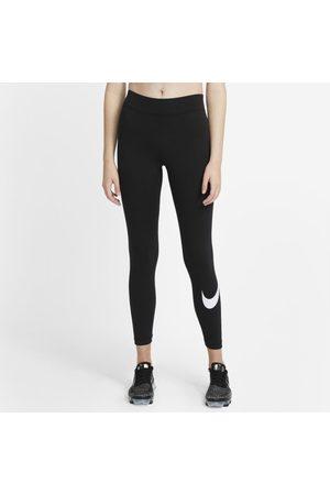 Nike Women Sports Leggings - Sportswear Essential Women's Mid-Rise Swoosh Leggings