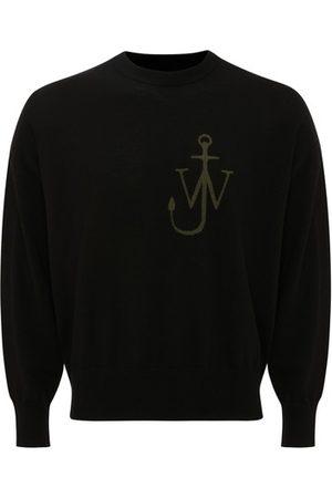 Jw Anderson Men Sweatshirts - Anchor Crewneck Jumper