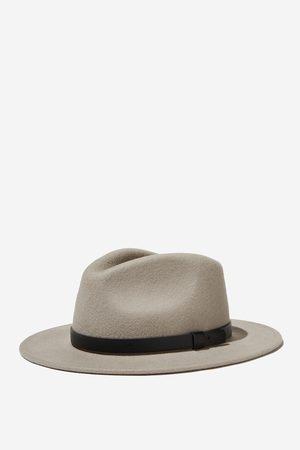 Cotton On Men Wide Brim Felt Hat - Light /