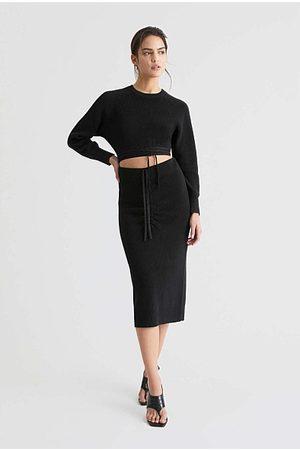 WITCHERY Women Skirts - Tie Knit Skirt