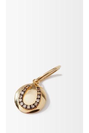 ROSA DE LA CRUZ Women Necklaces - Horseshoe Diamond & 18kt Charm - Womens
