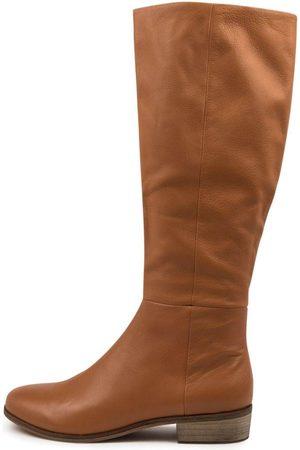 Django & Juliette Strath Scotch Boots Womens Shoes Casual Long Boots