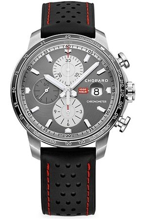 Chopard Mille Miglia Stainless Steel & Leather Chronograph Watch