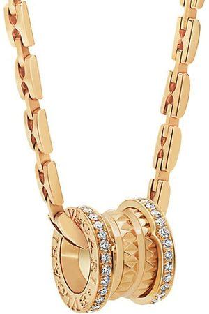 BVLGARI B.zero1 18K & Diamond Pendant Necklace