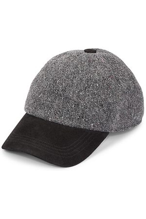 Saks Fifth Avenue COLLECTION Donegal Tweed Baseball Hat