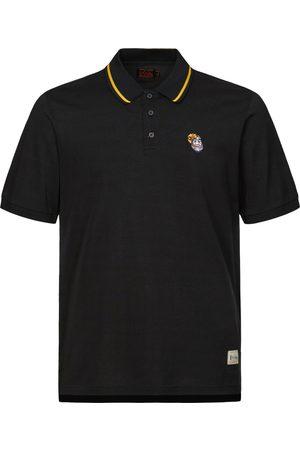 Evisu Men Polo Shirts - Daruma Embroidered Polo Shirt