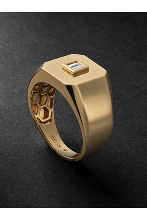 SHAY Men Rings - Diamond Signet Ring