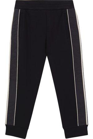Emporio Armani Logo stretch cotton-blend sweatpants