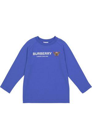 Burberry Boys T-shirts - Bear cotton long-sleeved T-shirt