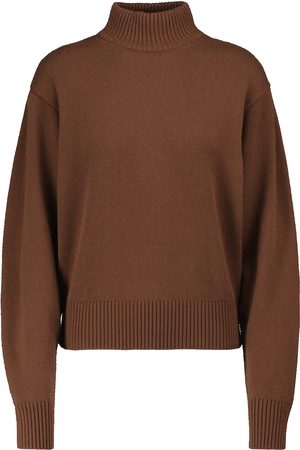 Loro Piana Women Turtlenecks - Quadrilatero cashmere turtleneck sweater